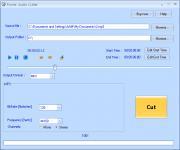 Screenshot programu Power Audio Cutter 3.0.16