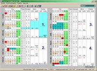 Screenshot programu Pracovní kalendář 2.0.3