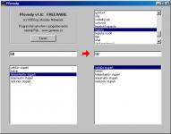 Screenshot programu Převody