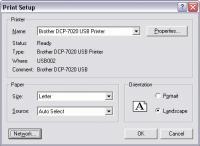 Screenshot programu Print Serial Numbers 2.3