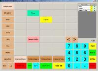Screenshot programu Prodejna - Restaurace 17.20 2008