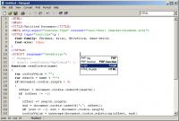 Screenshot programu Professional Notepad 2.92.9