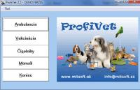 Screenshot programu Profivet 1.0