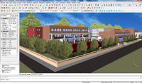 Screenshot programu progeCAD Architecture 2013