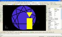 Screenshot programu ProgeCAD Professinal CZ 2008 8.0.26.9