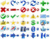 Screenshot programu Program Toolbar Icons 2008.5