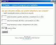 Screenshot programu Promile 1.0