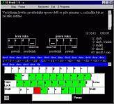 Screenshot programu 10 Prstů 1.5