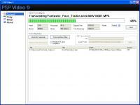 Screenshot programu PSP Video 9 5.03