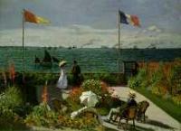 Screenshot programu Puzzle - Claude Monet: Terasa v Saint Adresse 1