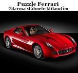 Screenshot programu Puzzle Ferrari 1