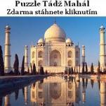 Screenshot programu Puzzle Tádž Mahal 1