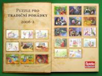 Screenshot programu Puzzle  tradiční české pohádky
