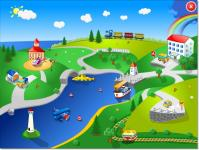 Screenshot programu Puzzle Veselé motory