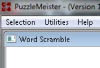 Screenshot programu PuzzleMeister 1.00.0001