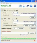 Screenshot programu PWGen 2.7.0