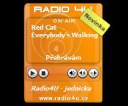Screenshot programu Rádio4U-gadget 2.0.1