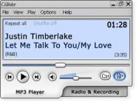 Screenshot programu Radio & MP3 Player