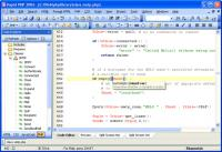 Screenshot programu Rapid PHP Editor 2015 13.4.0.168
