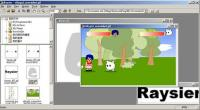 Screenshot programu Raysier 0.1.0a