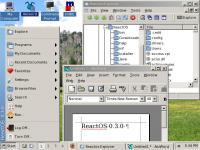 Screenshot programu ReactOS 0.3.3 RC2