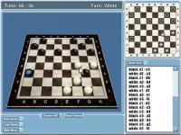 Screenshot programu Real Checkers