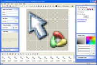 Screenshot programu RealWorld Cursor Editor 2012.1