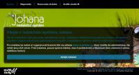 Screenshot programu Redakční systém Johana 1.6.3 free