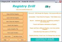 Screenshot programu Registry Drill 4.3.0.2