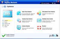 Screenshot programu Registry Mechanic 11.1.0.214
