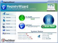 Screenshot programu RegistryWizard 3.2.14.507