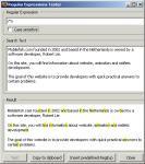Screenshot programu Regular Expressions Tester 1.1.6.12