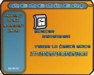 Screenshot programu Remember!