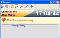 Screenshot programu Reminder 1.1