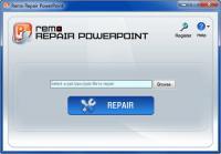 Screenshot programu Remo Repair Powerpoint 2.0