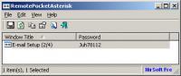Screenshot programu RemotePocketAsterisk 1.00
