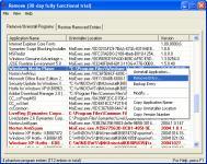 Screenshot programu Remove 4.0