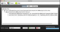 Screenshot programu Subtitler 1.0