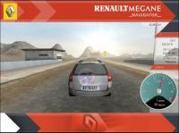 Screenshot programu Renault Megane Navigator