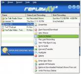 Screenshot programu Replay AV 8.80