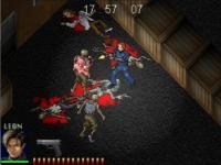 Screenshot programu Resident Evil Racoon Madness
