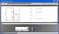 Screenshot programu Rezistor combiner