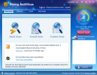 Screenshot programu Rising Antivirus 2011 23.00.66.15