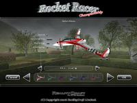 Screenshot programu Rocket racer