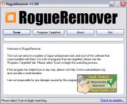 Screenshot programu RogueRemover 1.24