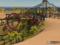 Screenshot programu RollerCoaster Tycoon  3