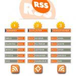 Screenshot programu RSS Aggregator 3.3