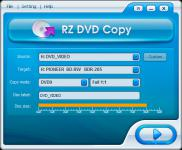 Screenshot programu RZ Blu-ray Copy 2.0.0.19