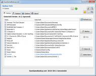 Screenshot programu SaveGameBackup.net 1.31