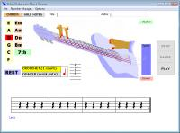 Screenshot programu School Guitar Learning Software 2.0